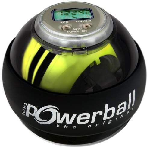 Kernpower Hand- Und Armtrainer Powerball The Original Autostart Plus Digitalem...