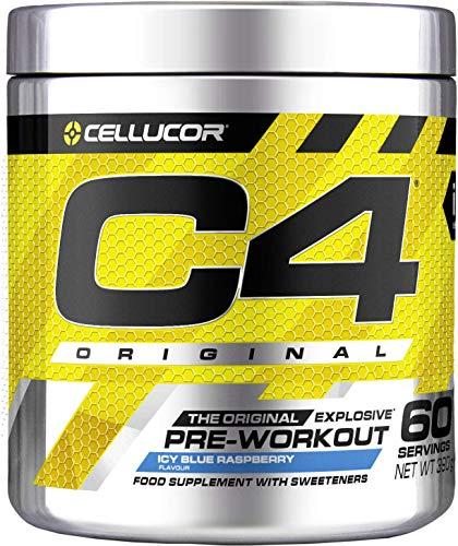 C4 Original - Pre-Workout-Booster - Icy Blue Razz (Himbeere) | Getränkepulver für...