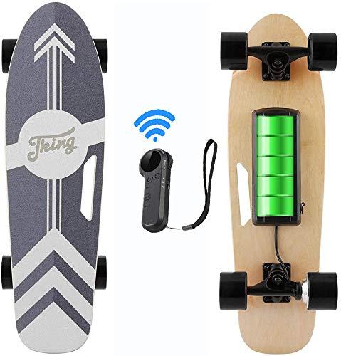 Caroma 28inch Elektro Skateboard, Elektro-Board, Skateboard elektrisch mit Motor,...