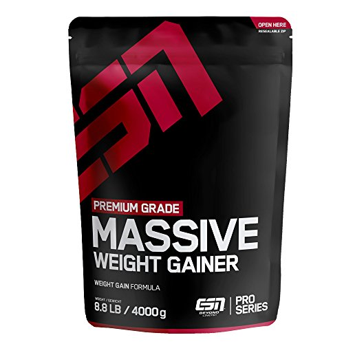 ESN Massive Weight Gainer - 4000g - Chocolate Cream - vollwertiges...