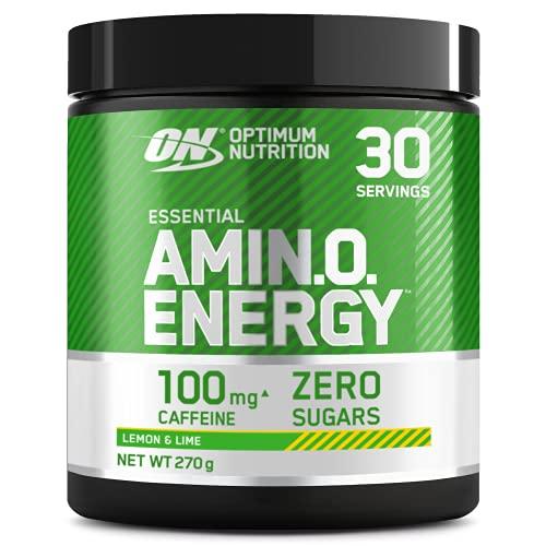 Optimum Nutrition ON Amino Energy Pre Workout Booster, Zuckerfrei Energy Drink Pulver...