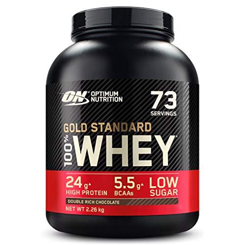 Optimum Nutrition ON Gold Standard Whey Protein Pulver, Eiweißpulver Muskelaufbau...