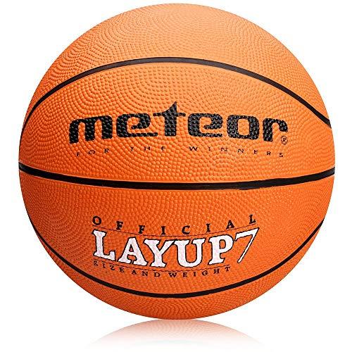 meteor® Layup Kinder Jugend Basketball Größe #5 ideal auf die Kinderhände von 4-8...