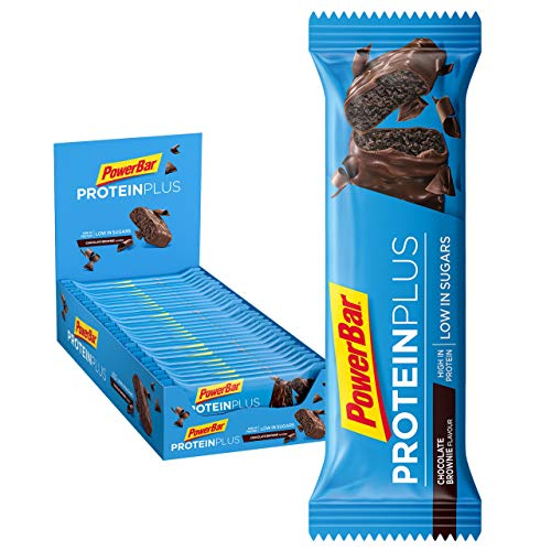 PowerBar Protein Plus Riegel mit nur 107 Kcal - Low Sugar Eiweissriegel,...