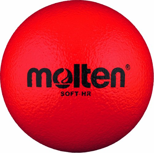 Molten Softball Handball Soft-HR, Rot, Ø 160 mm Ball, Ø