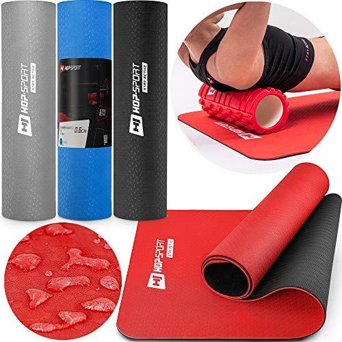 Hop-Sport Yogamatte HS-T006GM Gymnastikmatte Bodenmatte Pilates 183 x 61 x 0,6 cm...