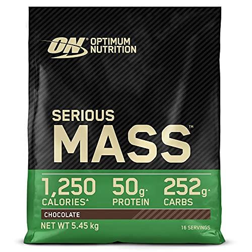 Optimum Nutrition ON Serious Mass Hochkalorisches Weight Gainer Protein Pulver, Whey...
