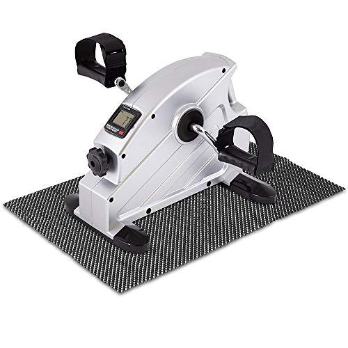 Mini-Bike Arm- und Beintrainer inkl. Anti-Rutschmatte und Trainingscomputer, tragbar,...