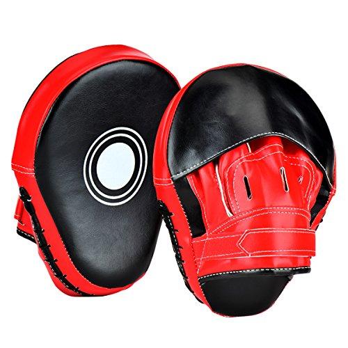 Wuudi Pratzen Trainerpratzen Kickboxen Boxen Pratzen für Muay Thai Kickboxen...