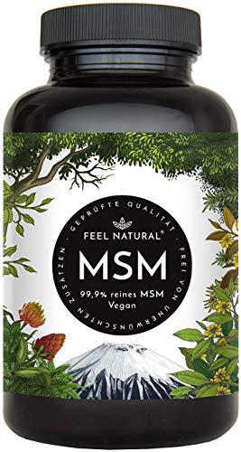 MSM Tabletten - 2000mg MSM (Methylsulfonylmethan) je Tagesdosis - 365 Tabletten (6...