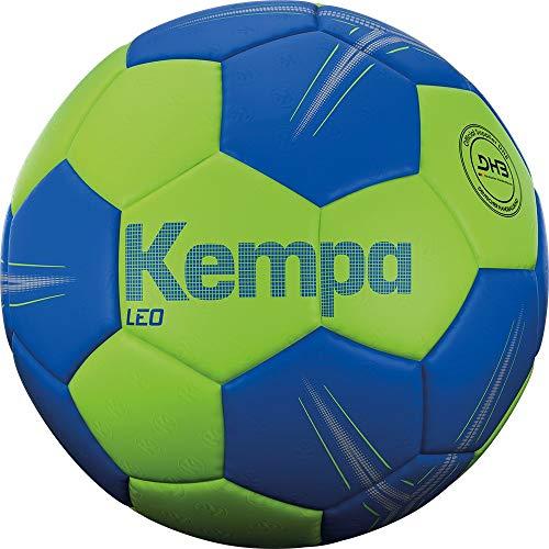 Kempa Unisex– Erwachsene LEO Handball, Ball, Grün/Blau, 3