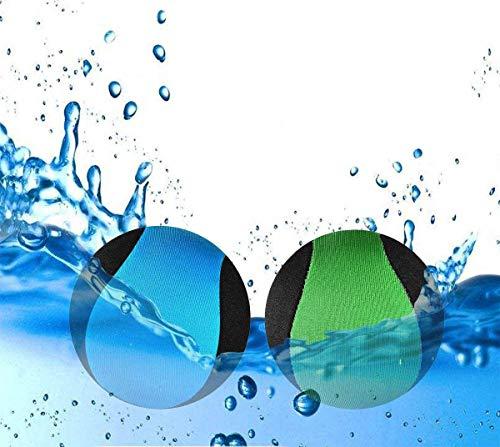 JYOHEY 2 Stück Wasserball Wasser Flummi Springender Ball auf Wasser Für Jugendliche...