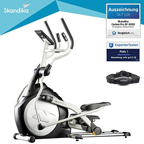 skandika Crosstrainer CardioCross Carbon Pro SF-3200, 23,5 kg Schwungmasse,...