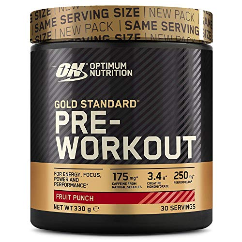 Optimum Nutrition Gold Standard Pre Workout Energie Booster (Pulver Shake mit Kreatin...