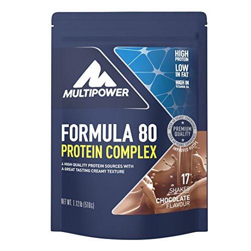 Multipower Formula 80 Protein Complex – Mehrkomponenten Protein Pulver für den...