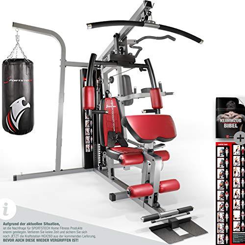 Sportstech Premium 50in1 Kraftstation für EIN Allround Training |...