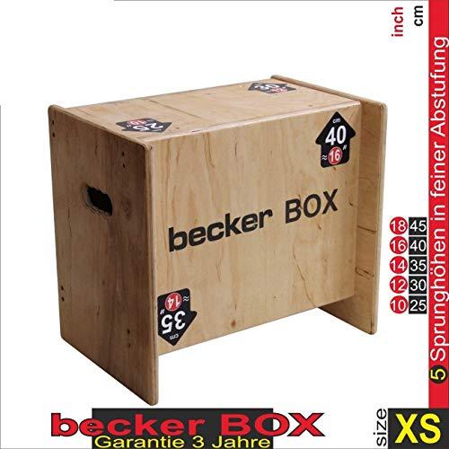 Becker-Sport Germany Becker Box XS Weltneuheit, 5 in 1 Box (BSG 28951) einzigartige...