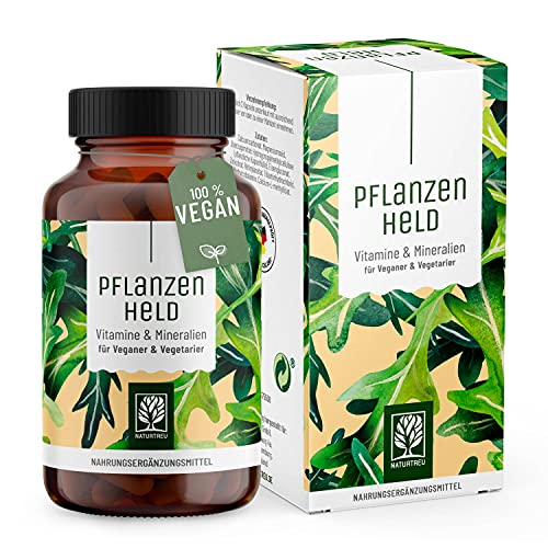 PFLANZENHELD Vegan Multivitamin Kapseln - Einführungspreis - 120 Kapseln für...