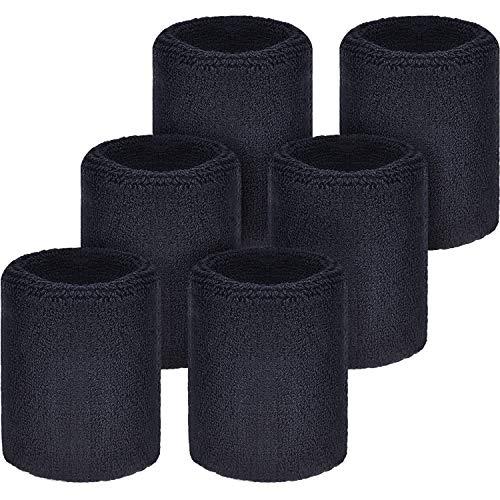 WILLBOND Schweißbänder Armbänder für Fußball Basketball Laufen Athletic Sport...