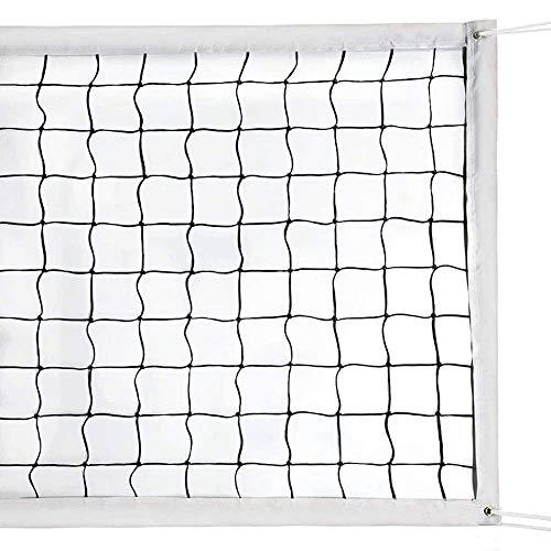 Volleyballnetz, tragbar, faltbar, für drinnen und draußen, Hinterhof, Garten,...