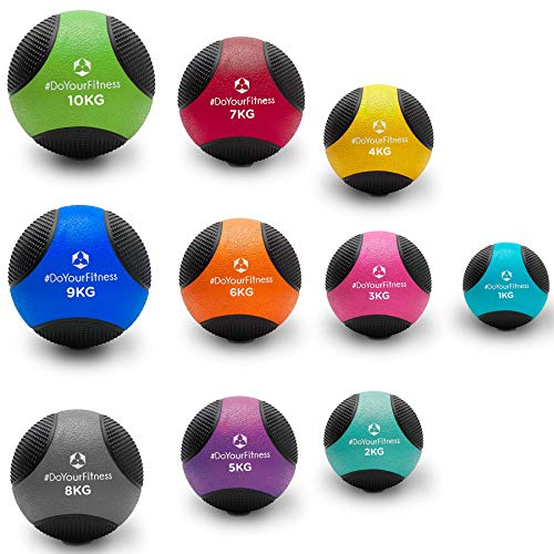 Medizinball »Medicus« / 1-10kg / Fitnessball/Gewichtsball/leichte bis sehr schwere Gymnastikbälle in Studio-Qualität 9kg / Navyblau
