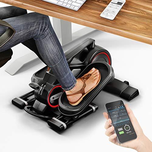 MesseNeuheit 2020! Mini Heimtrainer mit App, Stepper DFX100 Crosstrainer für...