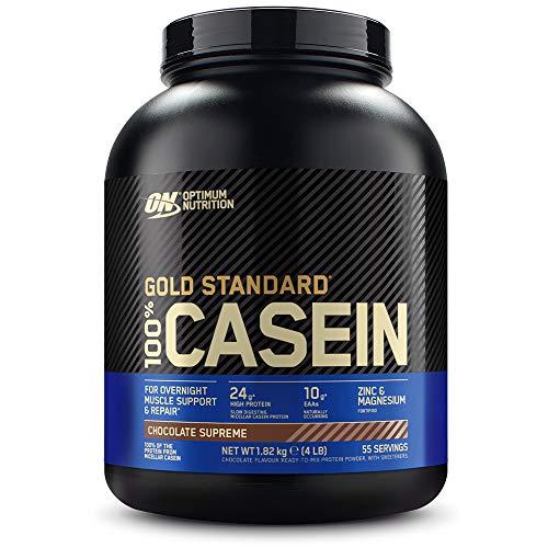 Optimum Nutrition ON 100% Gold Standard Casein Protein, Eiweißpulver Reich an...