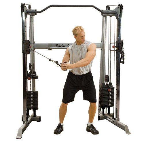 Body-Solid GDCC-200 Functional Training Center Multi-Kabelzug GDCC-200 (2 x 72kg...
