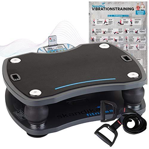 skandika Vibrationsplatte 500 3D Vibration | große rutschsichere Fläche | 4...