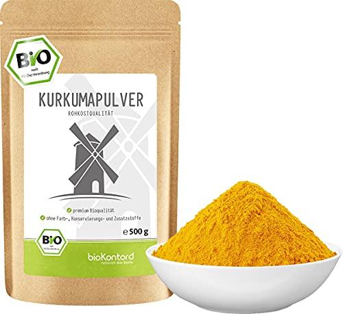 BIO Kurkuma Pulver gemahlen 500 g | Kurkumapulver - Curcuma - Curcumin | 100%...