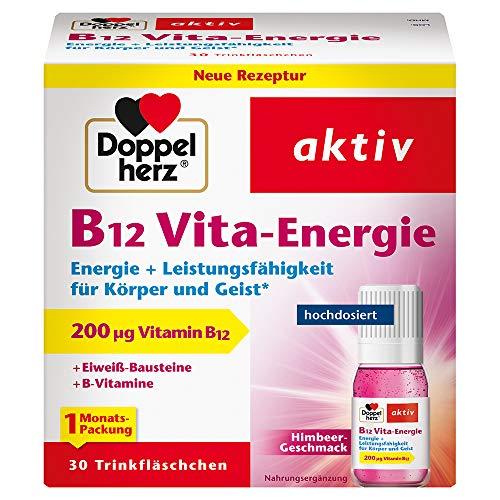 Doppelherz B12 Vita-Energie Trinkfläschchen – Energie und Leistungsfähigkeit für...