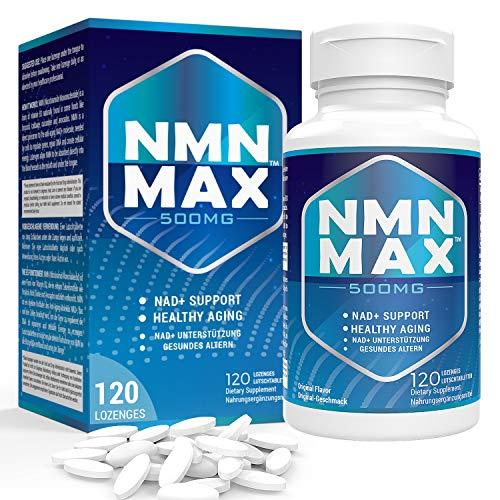 Sublinguale NMN 500mg x 120 Tabletten - Schnell wirkende...