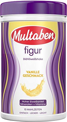 Multaben Diät Shake (430 g) – proteinreicher Abnehm Shake für eine Eiweiß Diät...