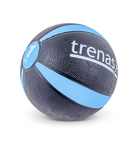 trenas Gummimedizinball PRO - Der professionelle Medizinball - 5 KG