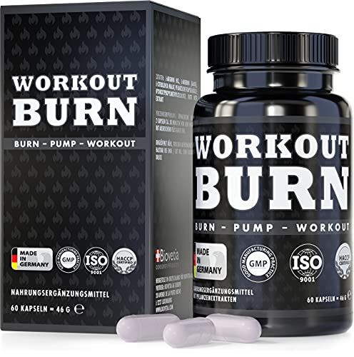 Workout Burn, exklusive Formel L-Arginin und L-Citrullin speziell während Workout,...