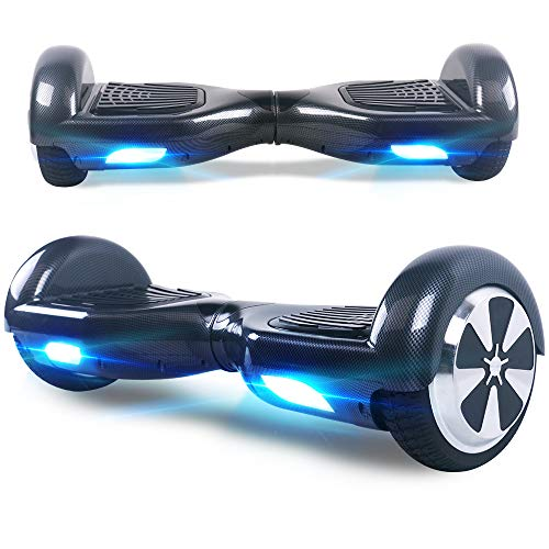 Windgoo Hoverboard, 6.5 Zoll Self Balance Scooter mit Starker Dual Motor - LED Lights...