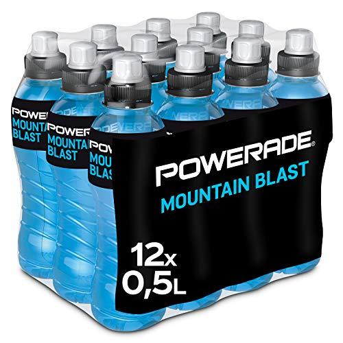 Powerade Sports Mountain Blast, Iso Drink mit Elektrolyten - als erfrischendes,...