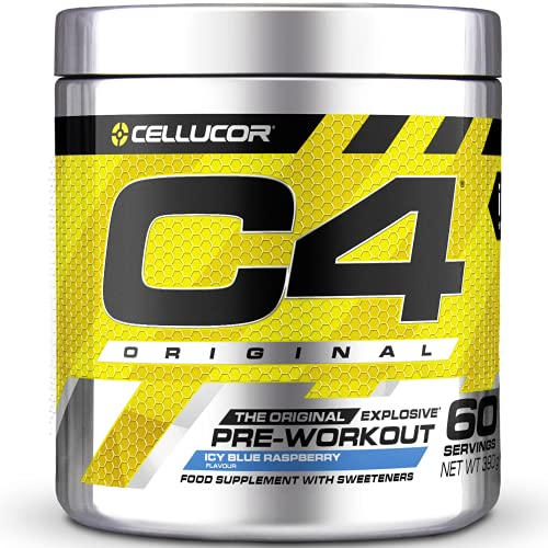 Cellucor C4 Original - Pre-Workout-Booster - Icy Blue Razz (Himbeere) |...