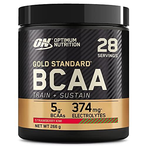 Optimum Nutrition Gold Standard BCAA Pulver, Aminosäuren Komplex Hochdosiert mit...