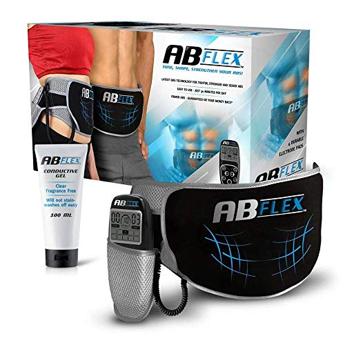 ABFLEX Toning Belt für schlank getönte Bauchmuskeln Handliche Fernbedienung für...