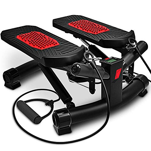 Sportstech 2in1 Twister Stepper mit Power Ropes - STX300 Modell 2021 Drehstepper &...