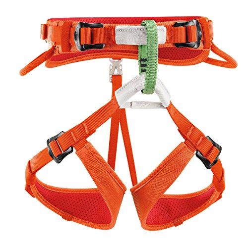 Petzl Kinder Klettergurte Macchu, orange, One Size