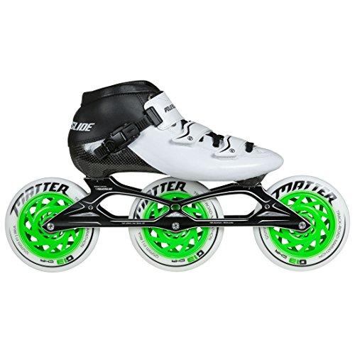 Powerslide Samurai Speedskate Inline Skate, Weiß, 37