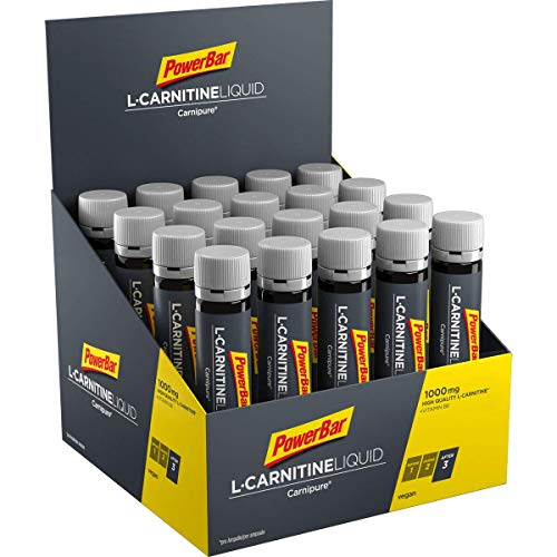 PowerBar L-Carnitine Liquid Ampullen 20x25ml - Nahrungsergänzungsmittel mit 1000 mg...