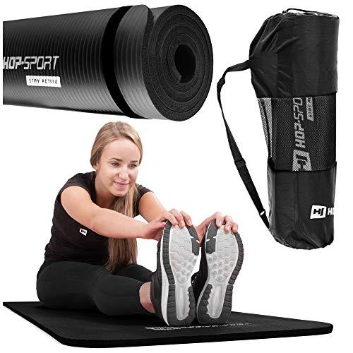 Hop-Sport Gymnastikmatte NBR180x61cm in Zwei Stärken/Fitnessmatte ist rutschfest...