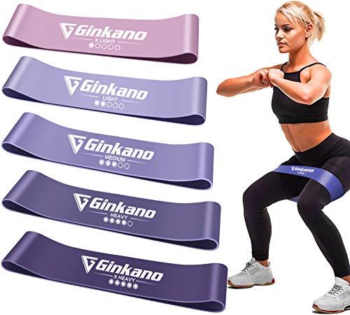 Haquno Widerstandsband [5 Sätze] Fitnessband Theraband, mit Deutscher...