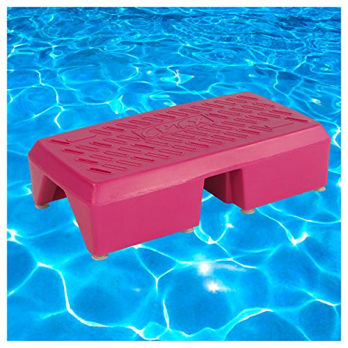 Sport-Tec Aqua-Step Aqua Fitness Aquagymnastik Trainings-Step Unterwasser Aerobic, 6 kg