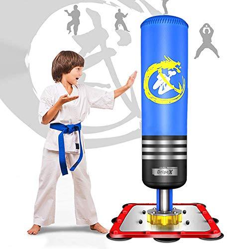Dripex Boxsack Kinder Freistehender Standboxsack MMA Boxpartner Boxing Trainer Heavy...