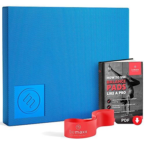 Balance Pad Board + Fitnessband + Trainings-eBook | Gleichgewichtstrainer...