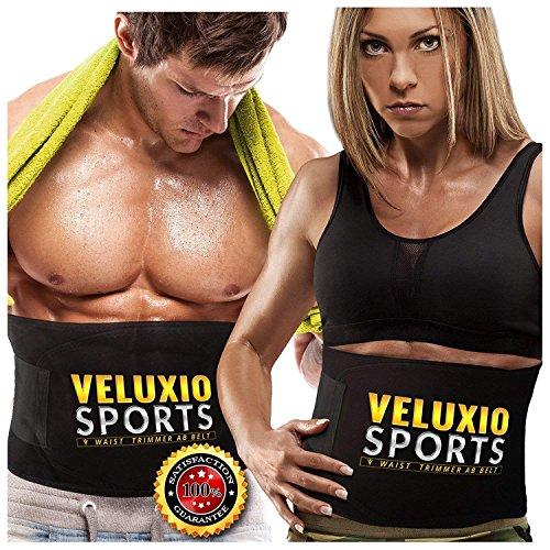 Veluxio Fitness-Gürtel für Männer und Frauen, für eine schlankere Taille,...